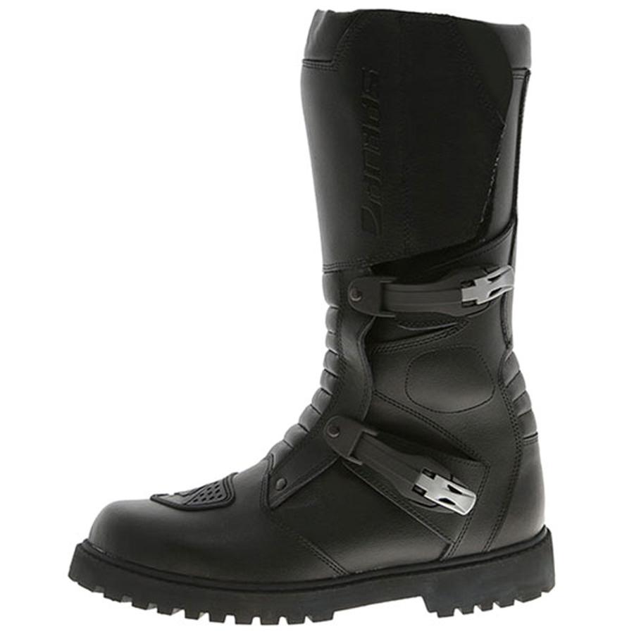 bikegear overland adventure style boot black half price